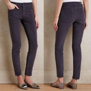 Anthropologie Pilcro Stet Corduroy Pants